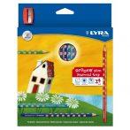 Színes ceruza készlet/24 LYRA Groove Slim hegyezővel