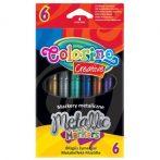 Colorino Creative 6db-os metál filctollkészlet
