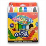 Zsírkréta 6 db-os Extra lágy Twist Colorino Kids