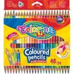 Colorino Kids trio kétvégû 24/48-as színesceruzakészlet