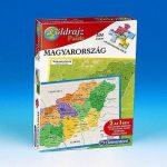Földrajz puzzle - Magyarország 2 az 1-ben  Clementoni