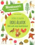 Játékos feladatok Erdei állatok – Montessori: A világ felfedezése