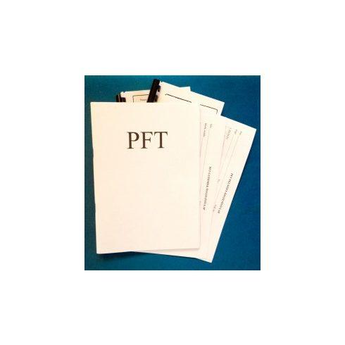 PFT teszt - felnőtt, gyermek