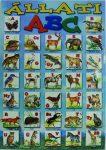 Állati ABC szemléltető plakát
