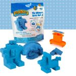 Mad Mattr Ultimate Brick Maker kockagyár - Kék  - Örökmozgó gyurma