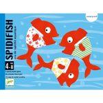 Fürdőkád játék - Vízikártya - Spidifish
