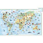 Megfigyeltető puzzle - Föld állatai, 100 db-os