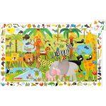 Megfigyeltető puzzle - Dzsungel, 35 db-os