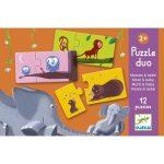 Párosító puzzle - Mama-baba - Puzzle duo