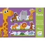 Sorozat puzzle - Kicsi és nagy - Puzzle trio
