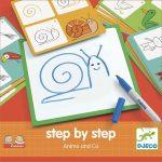 Rajzolás lépésről lépésre - Állatok  Step by step