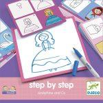 Rajzolás lépésről lépésre  Hercegnők  Step by step