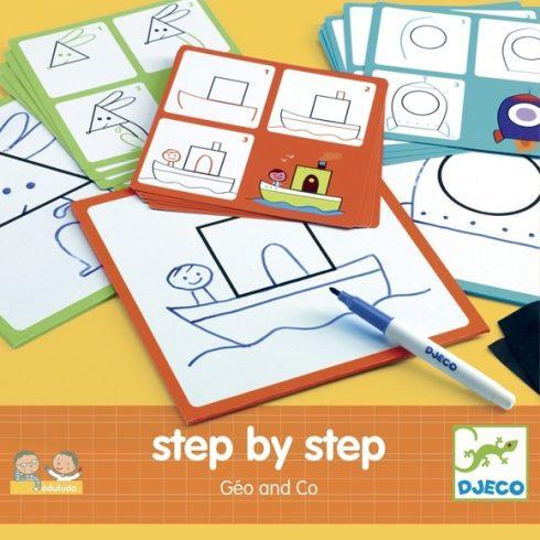 Rajzolás lépésről lépésre - Alapformák  Step by step