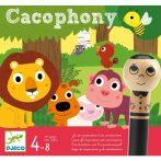 Hangzavar - Cacophony - Kooperatív, hang felismerő, akusztikus figyelmet fejlesztő társasjáték
