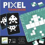 Logikai képkirakó játék - Pixel Tangram