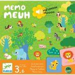 Állatos hang - kép memóriajáték  - Memo Meuh