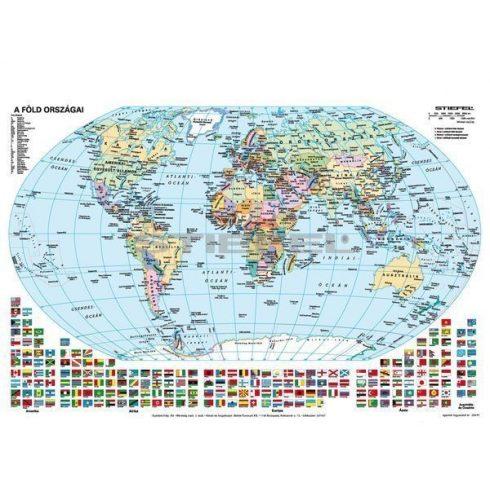 A Föld domborzata + Föld országai fixi tanulói munkalap