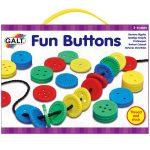 Vicces gombok - fűzős játék - GALT