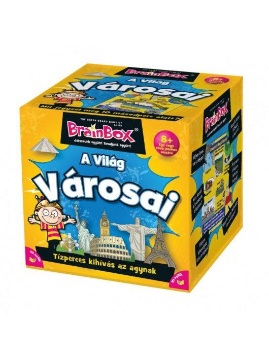 Brainbox - A világ városai Mit jegyzel meg 10 mp alatt ?