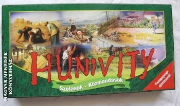 Hunivity   magyar szólások  és  közmondások társasjátéka