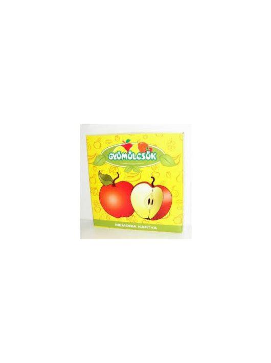 Memóriakártya : Gyümölcsök