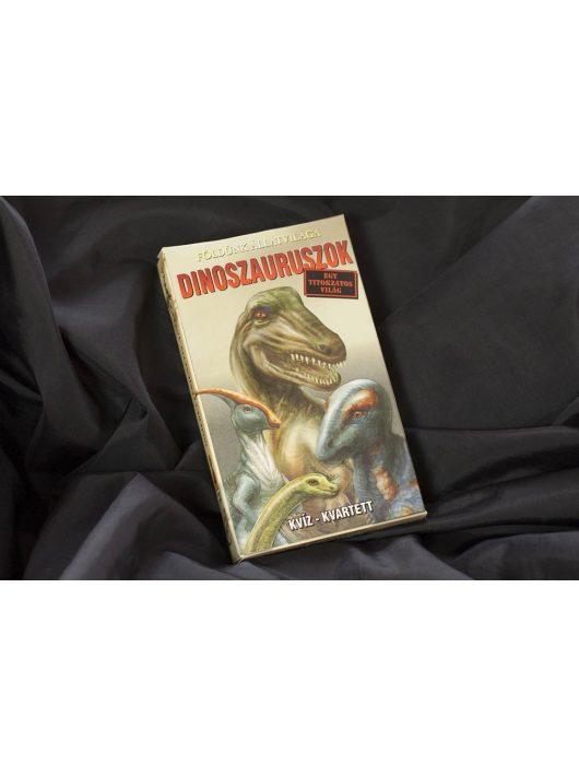 Dinoszauruszok - ismeretterjesztő kártyajáték