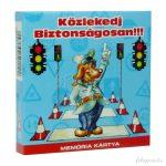 Memóriakártya : Közlekedj biztonságosan