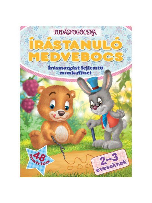 Az írástanuló medvebocs 2-3 éveseknek Tudásfogócska sorozat