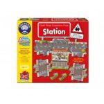 Vonatállomás óriás puzzle 8 db-os