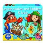 Kalózok, kígyók, létrák - 2 játék egy dobozban