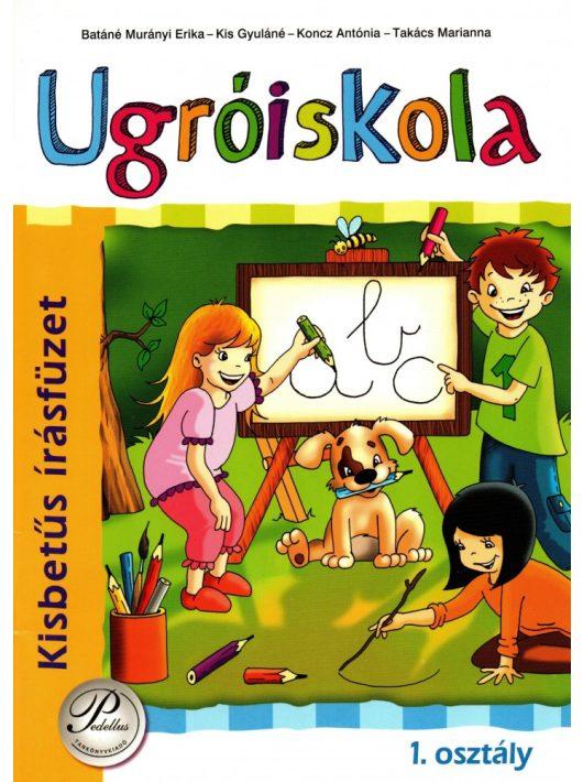 Ugróiskola 1 oszt. kisbetűs írásfüzet