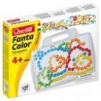 Fantacolor átlátszó táblás pötyi játék mintákkal - 150 db, 15 mm