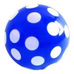 Pöttyös labda 220 mm - Kék