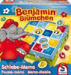 Csúszkáló Memóriajáték - Benjamin Blümchen