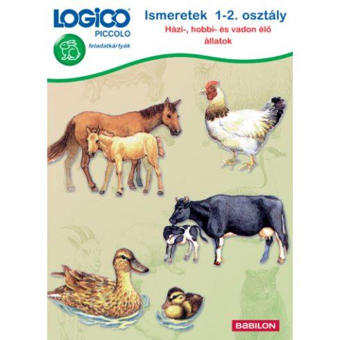 Logico Piccolo Ismeretek 1-2.oszt. Házi-,hobbi- és vadon élő állatok
