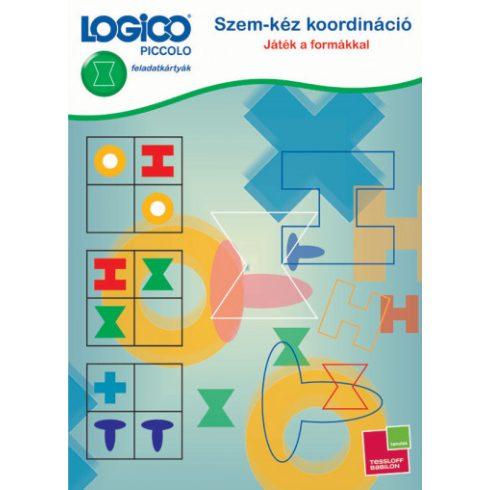 Logico Piccolo Szem-kéz koordináció: Játék a formákkal