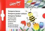 Aero tempera festék 6 darabos készletben